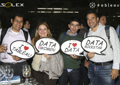 evento solex party with your data tableau 10