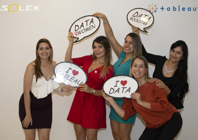 evento solex party with your data tableau 7