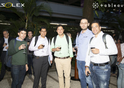 evento solex party with your data tableau 8