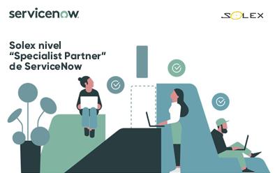 "Solex nivel ""Specialist Partner"" de ServiceNow"