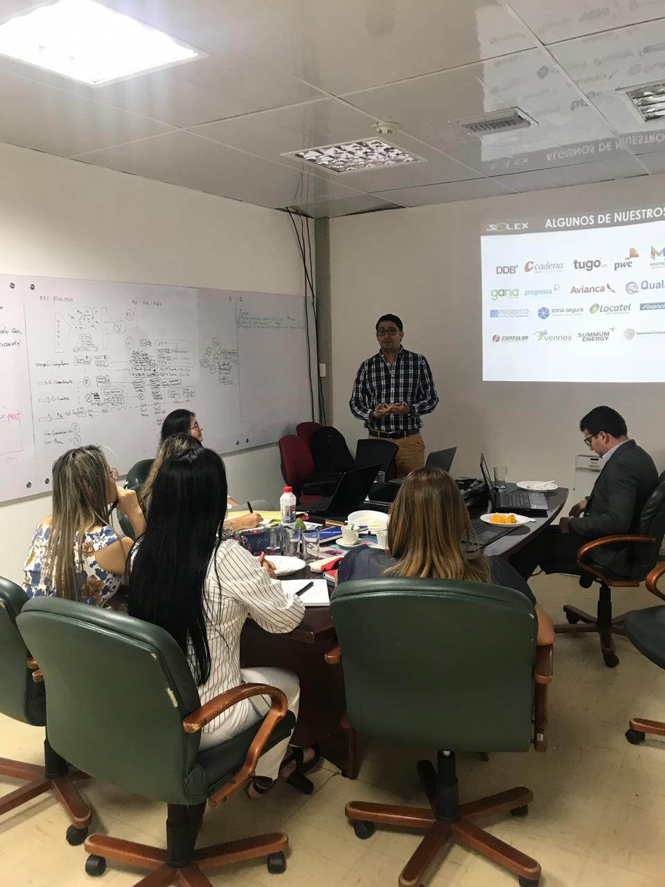 Raul Hernandez Kick off proyecto de Gestión del Cambio en Emcali