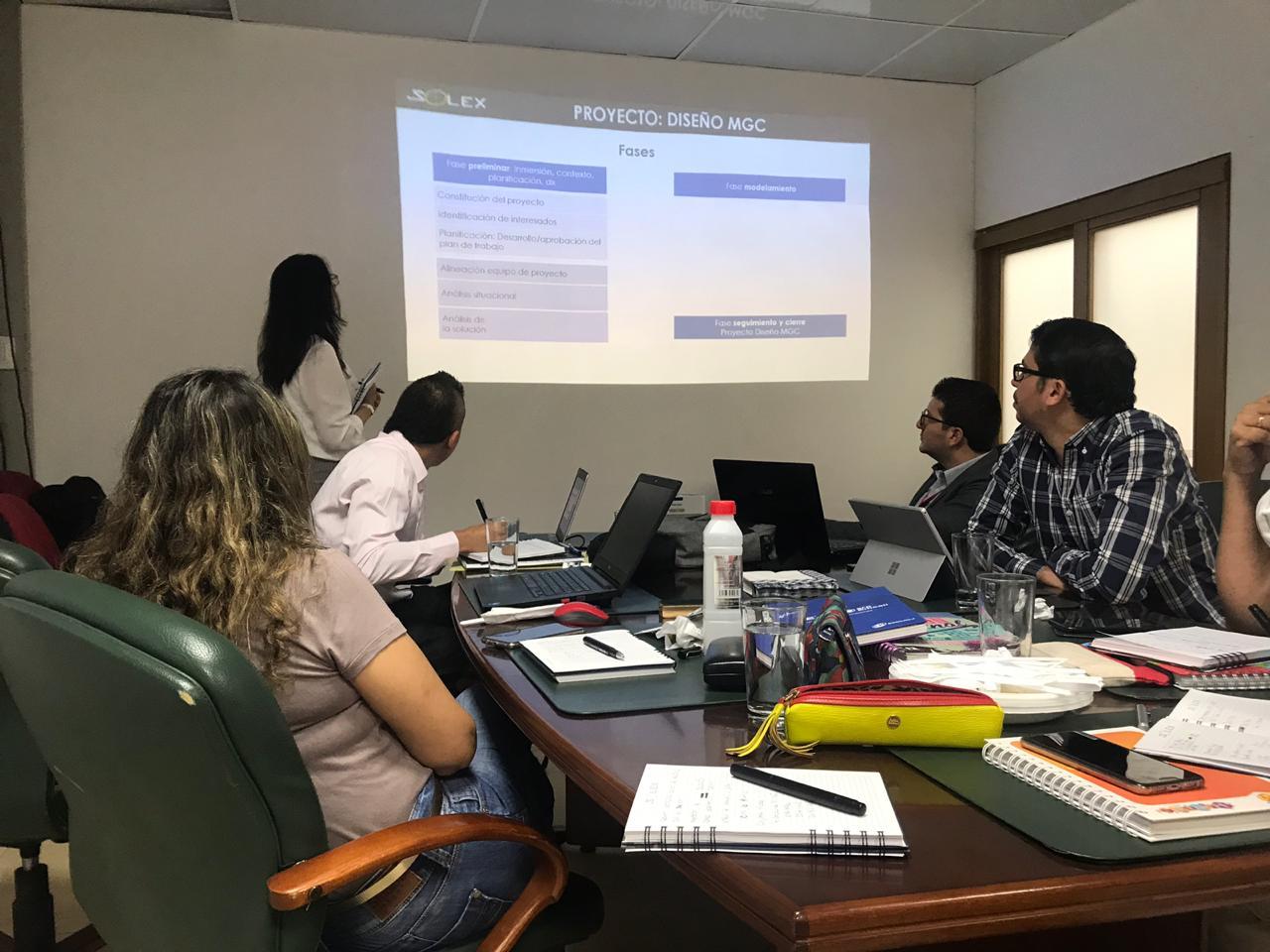 Luz Adriana Zapata Kick off proyecto de Gestión del Cambio en Emcali