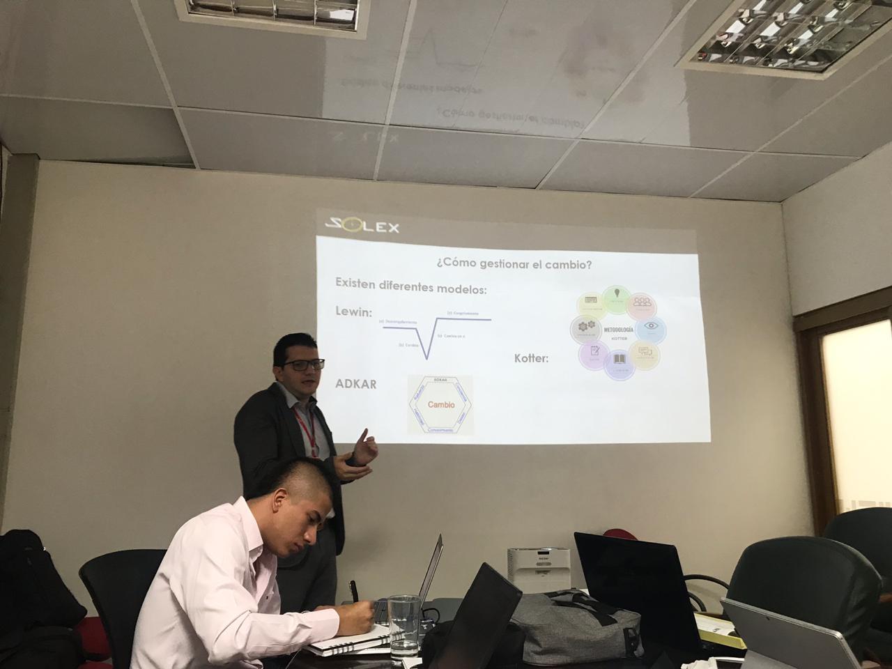 Presentación Kick off proyecto de Gestión del Cambio en Emcali