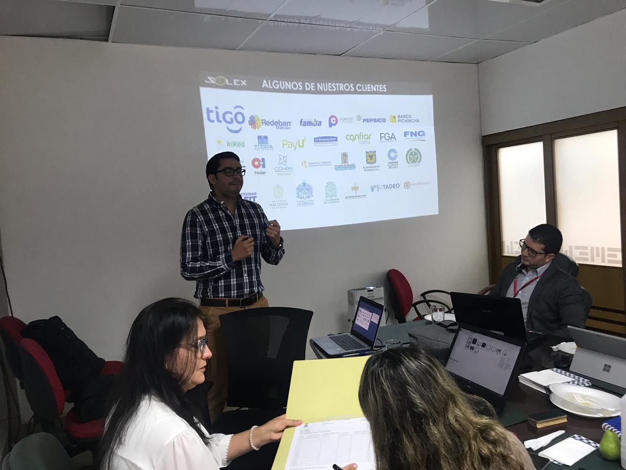 -Gerente comercial Solex Colombia Kick off proyecto de Gestión del Cambio en Emcali
