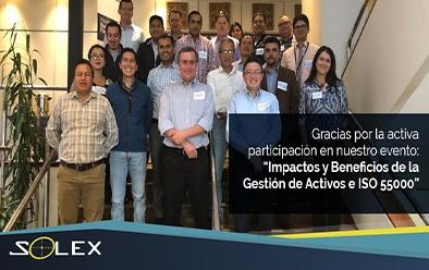 Solex Ecuador Impactos y Beneficios de la Gestión de Activos e ISO 55000 con IBM Maximo