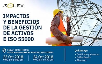 Solex Colombia & IBM Maximo evento Gestión de Activos e ISO 55000