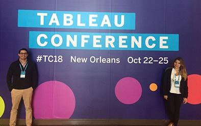 Solex Partner estratégico de Tableau presente en el Tableu Conference.