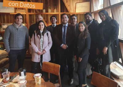 desayuno de negocios tomando decisiones con datos Solex Chile y Tableau