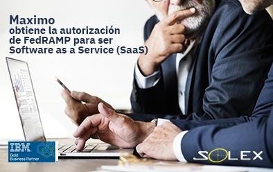 Maximo obtiene la autorización de FedRAMP para ser Software as a Service (SaaS)