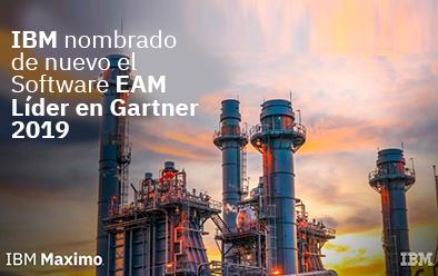 IBM nombrado de nuevo el Software EAM Líder en Gartner 2019