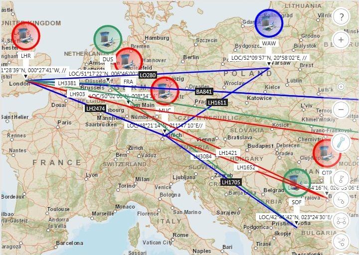 mapa geoespacial ibm