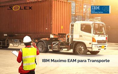 ¿En qué consiste IBM Maximo EAM para empresas de transporte?