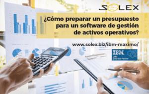 presupuesto software gestion activos