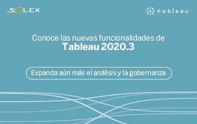 Novedades Tableau 2020.3