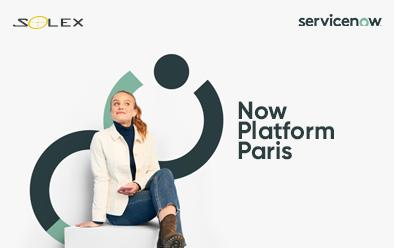 Conoce detalles de la versión Now Platform Paris