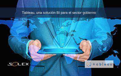 solución inteligencia negocios gobierno