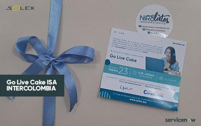 Go Live Cake ISA INTERCOLOMBIA