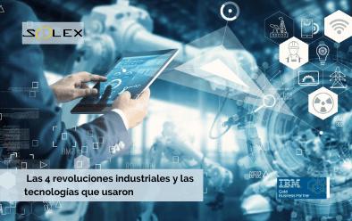 Conozca las 4 revoluciones industriales y las tecnologías que las impulsaron