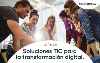 Soluciones TIC para la transformación digital